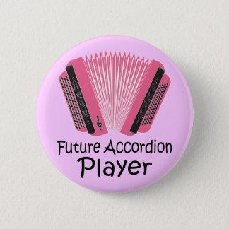 Future Accordion Player Button Gift