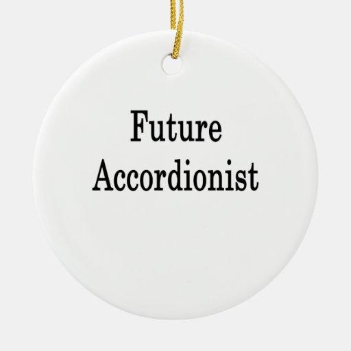 Future Accordionist Christmas Ornaments