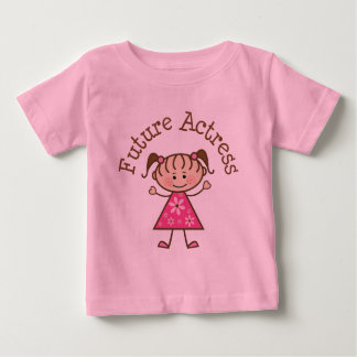 Future Actress (Cute) Baby T-Shirt