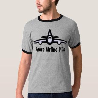 Future Airline Pilot Tee Shirt
