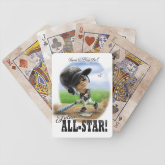 Future All-Star Black Bicycle Playing Cards
