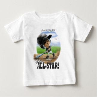 Future All-Star Black Helmet Baby T-Shirt