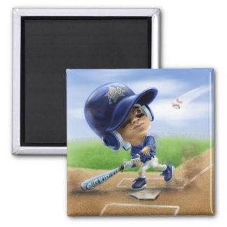 Future All-Star Blue 2 Inch Square Magnet