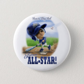 Future All-Star Blue Pinback Button