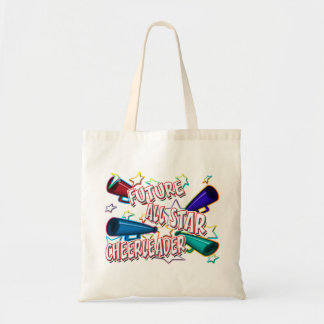 Future All Star Cheerleader Tote Bags