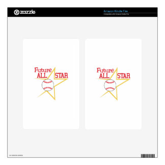 Future All-Star Kindle Fire Decals