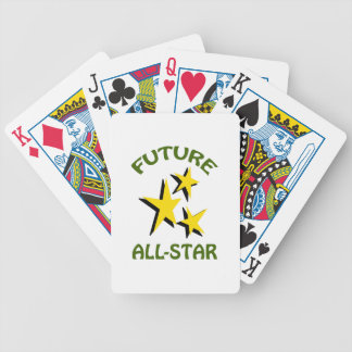 FUTURE ALLSTAR BICYCLE PLAYING CARDS