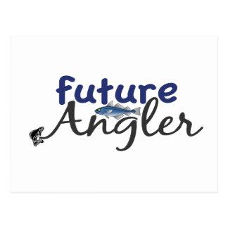 Future Angler (Fishing) Postcard