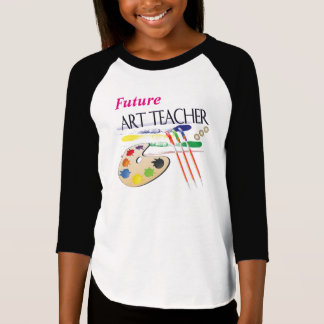Future Art teacher - Girls T-shirt