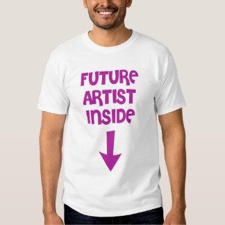 Future Artist Inside Short sleeve Tee Shirt