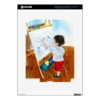 Future Artist iPad 3 Decal