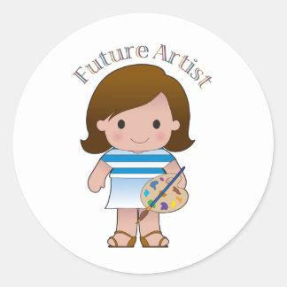 Future Artist Sticker