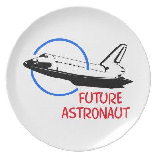 Future Astronaut Dinner Plate