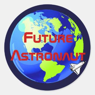 Future Astronaut Sticker