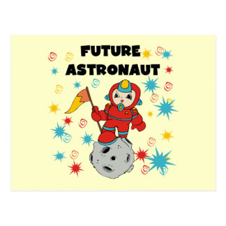 Future Astronaut Tshirts and Gifts Postcard