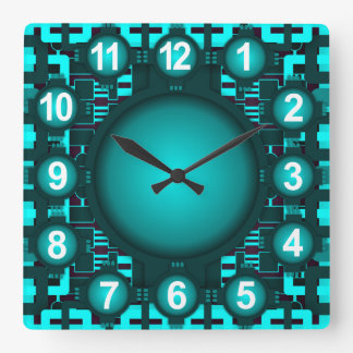 Future Atomic Hi Tech Clock