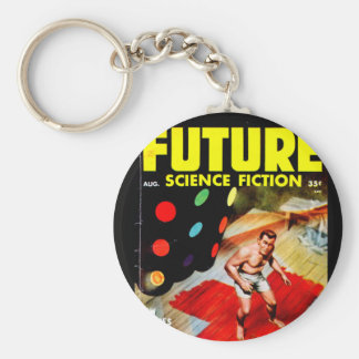 Future August 1954_Pulp Art Keychain