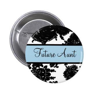 Future Aunt Button