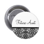 Future Aunt Pinback Button