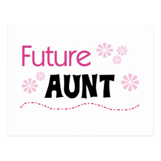 Future Aunt Tshirts and Gifts Postcard