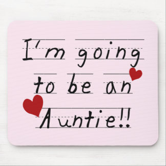 Future Auntie Kid Print Tshirts and Gifts Mouse Pad