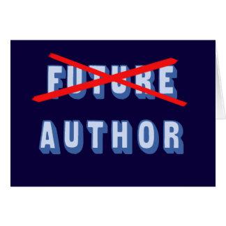 Future Author No More Card