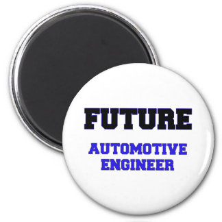Future Automotive Engineer Fridge Magnets