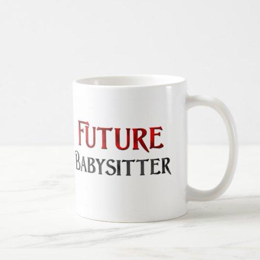 Future Babysitter Classic White Coffee Mug
