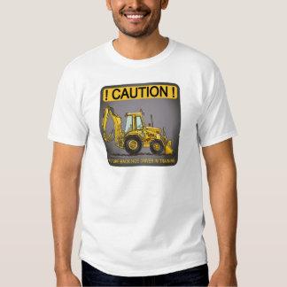 Future Backhoe Driver Mens T-Shirt