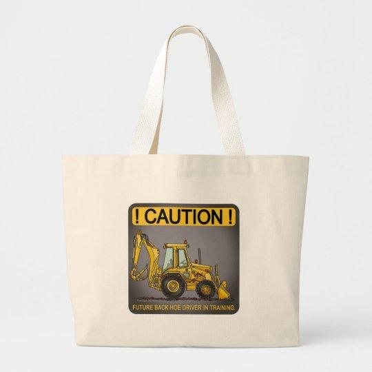 Future Backhoe Driver Tote Bag