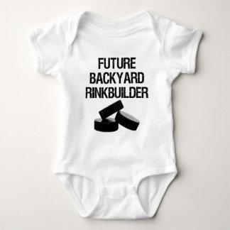 'Future Backyard Rinkbuilder' Infant Baby Bodysuit