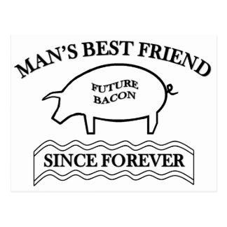 Future Bacon Postcard