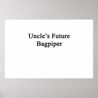 Future Bagpiper de tío Póster