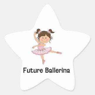 Future Ballerina Star Sticker
