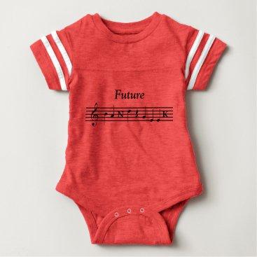 Toddler & Baby themed Future Band Geek Shirt