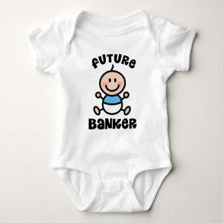 Future Banker Baby Gift Baby Bodysuit