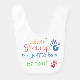 Future Barber Baby Bib