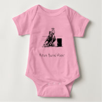Future Barrel Racer Baby Bodysuit