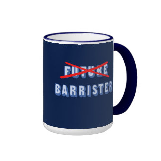 Future Barrister No More Ringer Coffee Mug