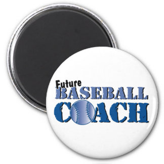 Future Baseball Coach Magnet