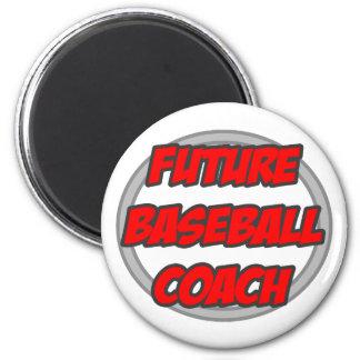 Future Baseball Coach Fridge Magnet