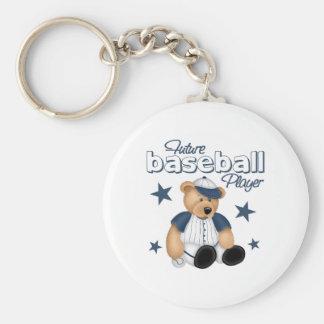 Future Baseball Player Keychain