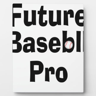 Future Baseball Pro Plaque