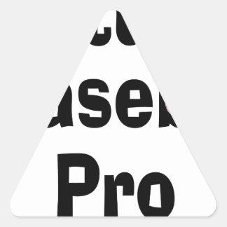 Future Baseball Pro Triangle Sticker