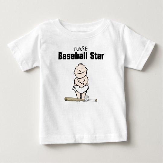 Future Baseball Star Baby Boy T-shirts & Bodysuits