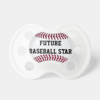 Future Baseball Star Baby Pacifier