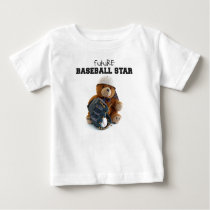 Future Baseball Star Baby T-Shirt