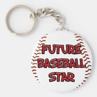 Future Baseball Star Keychain