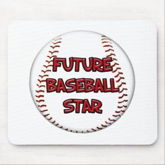 Future Baseball Star Mouse Pad