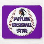 Future Baseball Star Mousepad